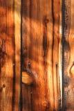 1 und Planken einer Hälfte Stockfotografie