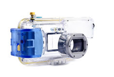 1 undervattens- kamerahusserie Royaltyfri Fotografi