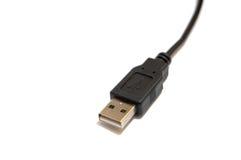 1 usb cable Zdjęcie Stock