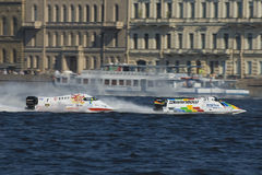 1 vatten för formelgp russia Fotografering för Bildbyråer