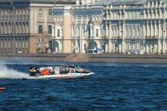 1 vatten för formelgp russia Royaltyfri Fotografi