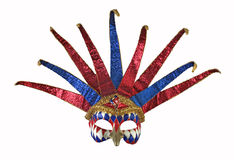 1 venetian karnevalmaskering Royaltyfria Bilder