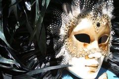 1 venetian maskering Arkivfoto