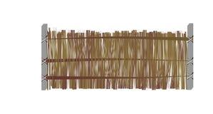 1. Versiones de la cerca. Stock de ilustración