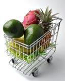 1 wózków owoców Obrazy Royalty Free