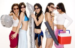 1 wakacje na plaży Obrazy Stock
