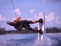 1 wakeboarding Zdjęcie Royalty Free
