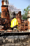 1 wat för buddha mahathatphra Arkivfoto