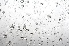 1 waterdrops Obrazy Royalty Free