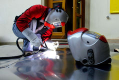 1 welder Стоковые Изображения RF