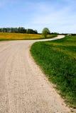 (1) wiejska droga zdjęcie stock