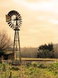 1 windmill Arkivfoto