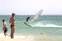 1 windsurf Στοκ Φωτογραφία