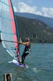 1 windsurfer Στοκ Φωτογραφίες