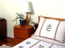 1 wnętrza sypialni Obraz Royalty Free