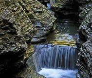 1 wodospadu Zdjęcia Royalty Free