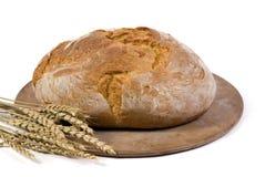 1 występować samodzielnie bochenek chleba pszenicy Zdjęcie Stock