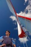 1 yachtman Στοκ Φωτογραφία