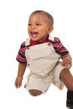 1-year old African American baby boy portrait Stock Photography