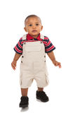 1-year old african american boy standing Stock Photo