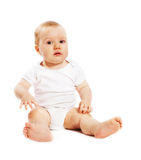 1-year old baby Stock Images