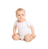 1-year old baby Royalty Free Stock Photos