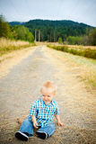 1 Year Old Boy Royalty Free Stock Photography