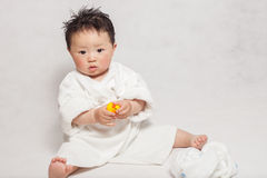 1 Year Old boy. Portrait Stock Images