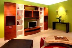 (1) żywy pokój Zdjęcie Stock