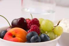 (1) zdrowy śniadania owocowy Obrazy Royalty Free