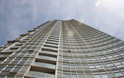 10个公寓塔 免版税库存图片