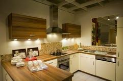 10个厨房现代新的缩放比例 库存图片