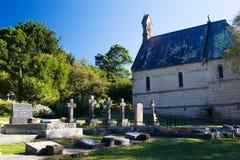 10个坟墓 库存图片
