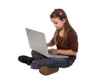 10个女孩年轻人 免版税库存图片