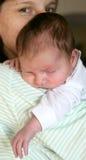 10个婴孩休眠 库存图片