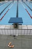 10个池游泳 免版税库存图片