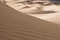 10个沙丘极大的国家公园蜜饯沙子 免版税图库摄影