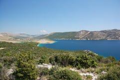 10个海岛sibenik 库存图片