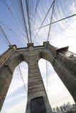10个角度桥梁宽布鲁克林 免版税库存照片