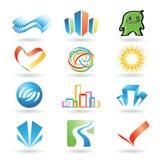 10个设计要素向量 库存图片