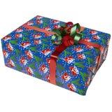 10个配件箱圣诞节 库存照片