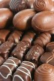 10个配件箱甜点 免版税库存照片