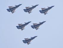 10中国人战斗机j 库存照片