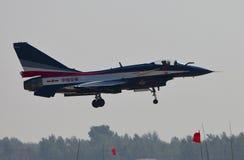 10中国人战斗机j 库存图片