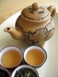 10中国人茶 免版税库存照片