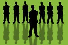 10企业小组 免版税库存图片