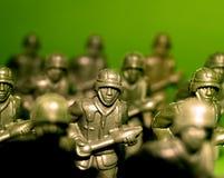 10位战士 免版税库存图片