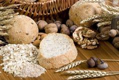 10做面包的粮谷 免版税库存照片