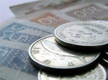 10名克罗地亚人货币 库存图片