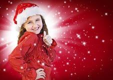 10圣诞老人 免版税库存图片